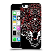 Official Bioworkz Coloured Animal Head 1 Wolf 1 Hard Back Case For Apple Iphone 5C