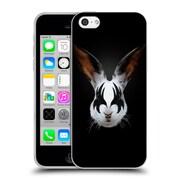 Official Robert Farkas Animals Rockstar Kiss Of A Rabbit Soft Gel Case For Apple Iphone 5C