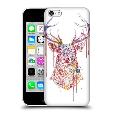 Official Bioworkz Coloured Animal Head 1 Ornate Buck 1 Hard Back Case For Apple Iphone 5C