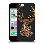 Official Bioworkz Coloured Animal Head 1 Ornate Buck 2 Hard Back Case For Apple Iphone 5C