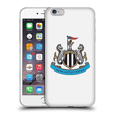 Official Newcastle United Fc Nufc 2015/16 Crest Kit Change Full Colour Soft Gel Case For Apple Iphone 6 Plus / 6S Plus