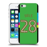 Official Newcastle United Fc Nufc 2016/17 Players Away Kit 1 Sels Soft Gel Case For Apple Iphone 5 / 5S / Se