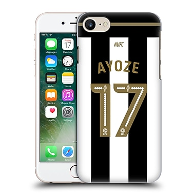 Official Newcastle United Fc Nufc 2016/17 Players Home Kit 1 Ayoze Hard Back Case For Apple Iphone 7
