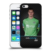 Official Newcastle United Fc Nufc 2016/17 First Team 1 Darlow Soft Gel Case For Apple Iphone 5 / 5S / Se
