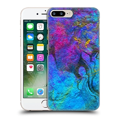 Official Haroulita Marble Blue Gold 2 Hard Back Case For Apple Iphone 7 Plus