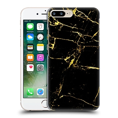 Official Haroulita Marble Black And Gold Hard Back Case For Apple Iphone 7 Plus