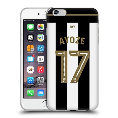 Official Newcastle United Fc Nufc 2016/17 Players Away Kit 1 Ayoze Soft Gel Case For Apple Iphone 6 Plus / 6S Plus