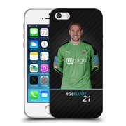Official Newcastle United Fc Nufc 2016/17 First Team 1 Elliot Soft Gel Case For Apple Iphone 5 / 5S / Se