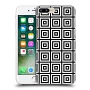 Official Haroulita Monochrome 3D Squares Hard Back Case For Apple Iphone 7 Plus