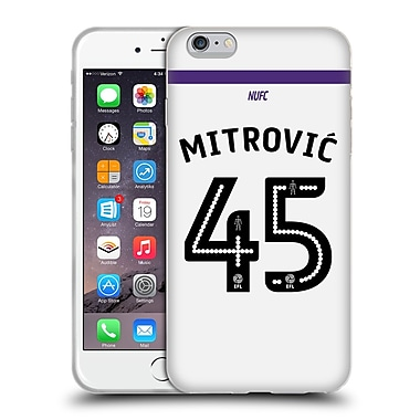 Official Newcastle United Fc Nufc 2016/17 Players Third Kit 1 Mitrovic Soft Gel Case For Apple Iphone 6 Plus / 6S Plus