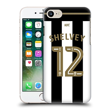 Official Newcastle United Fc Nufc 2016/17 Players Home Kit 1 Shelvey Hard Back Case For Apple Iphone 7