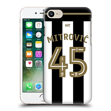 Official Newcastle United Fc Nufc 2016/17 Players Home Kit 1 Mitrovic Hard Back Case For Apple Iphone 7