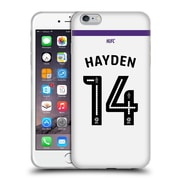 Official Newcastle United Fc Nufc 2016/17 Players Third Kit 2 Hayden Soft Gel Case For Apple Iphone 6 Plus / 6S Plus