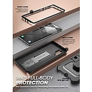 SUPCASE Unicorn Beetle Pro Black Rugged Case for Galaxy Note 10 Plus (S-G-N10P-UBP-BK)
