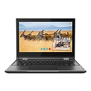 "Lenovo 300e (2nd Gen) 81M9 11.6"" Notebook, Intel Celeron, 4GB Memory, 128GB SSD, Windows 10 Pro (81M9007UUS)"