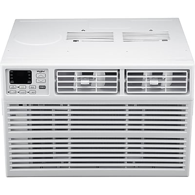 Whirlpool Energy Star 8,000 BTU 115V Window-Mounted Air Conditioner with Remote Control 24056082