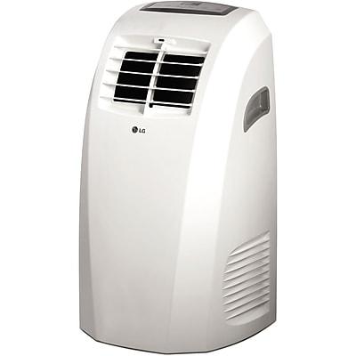 LG 10,000 BTU 115V Portable Air Conditioner with Remote Control in White