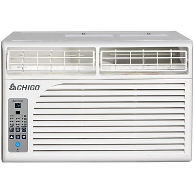 Chigo Energy Star 6,400 BTU Window Air Conditioner with MyTemp Remote Control