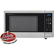 Sharp Carousel 1.4 Cu. Ft. 1000W Countertop Microwave Oven with Orville Redenbacher's Popcorn Preset