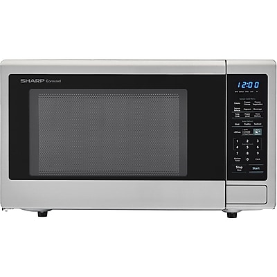 Sharp Carousel 1.8 Cu. Ft. 1100W Countertop Microwave Oven