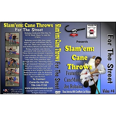 I&I Sports Supply BnB-255 No. 4 Slamem Cane Throws for Street DVD by Robaina (ISPT5283) 24025394