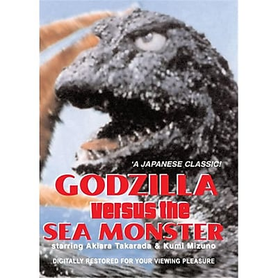 Isport Godzilla Vs. The Sea Monster DVD 1966 (ISPT1820) 24025246