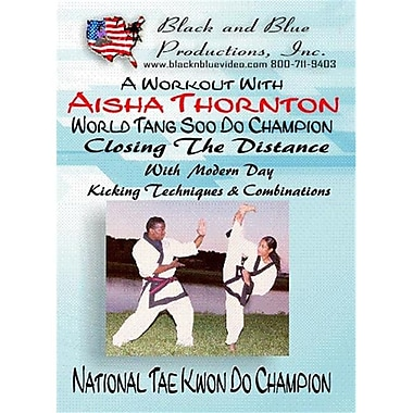 I&I Sports Supply BnB-160 A Workout with Aisha Thornton Closing the Distance DVD (ISPT4602)
