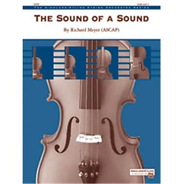 Alfred The Sound of a Sound - Conductor Score (LFR4618)