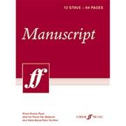 Alfred Manuscript Paper - 12 Stave, 8.5 x 12 in. (LFR5759)