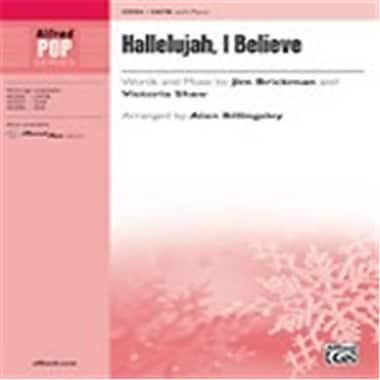 Alfred Hallelujah, I Believe - SATB (LFR3131)