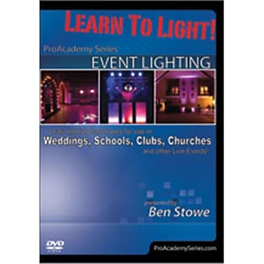 Alfred Learn to Light - Pro Academy Series - Event Lighting (LFR7257)
