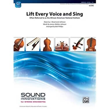 Alfred Lift Every Voice & Sing (LFR1432)