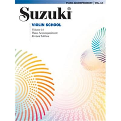 Alfred Suzuki Violin School Piano Acc., Volume