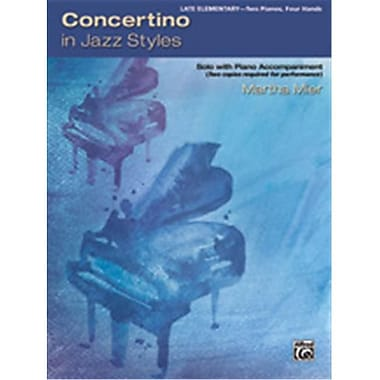 Alfred Concertino In Jazz Styles (LFR49511)