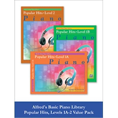 Alfred Basic Piano Library Popular Hits 1A-2