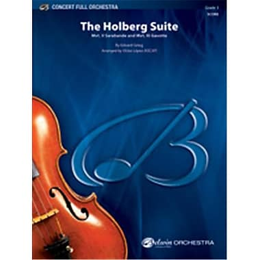 Alfred The Holberg Suite - Conductor Score (LFR1430)