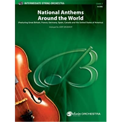 Alfred National Anthems Around the World - Conductor Score (LFR3296) 24037634
