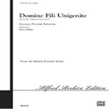 Alfred Domine Fili Unigenite From Missa Primi Toni (LFR7148)
