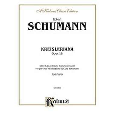 Alfred SCHUMANN KREISLERIANA OP.16 P (ALFRD76651)