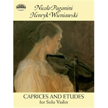 Alfred Caprices & Etudes for Solo Violin (LFR4847)