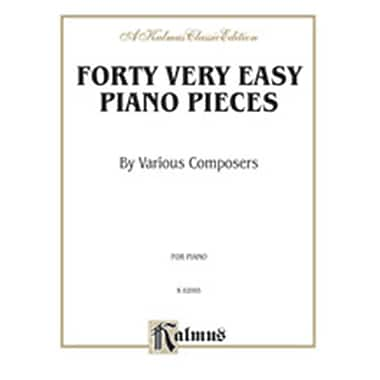 Alfred 40 EASY PIANO PIECES (ALFRD78193)