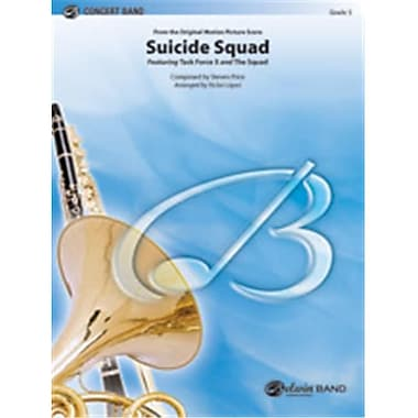 Alfred Suicide Squad, Conductor Score & Parts - 3 - Medium Easy (LFR1776)