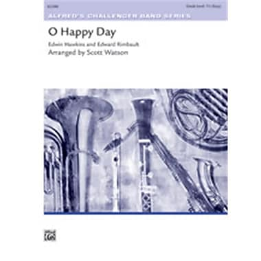 Alfred O Happy Day - Conductor Score (LFR1982)