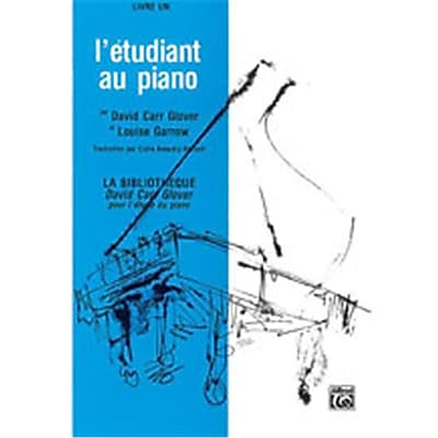 Alfred Piano Student French Edition, Level 1