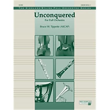 Alfred Unconquered - Conductor Score (LFR3083)