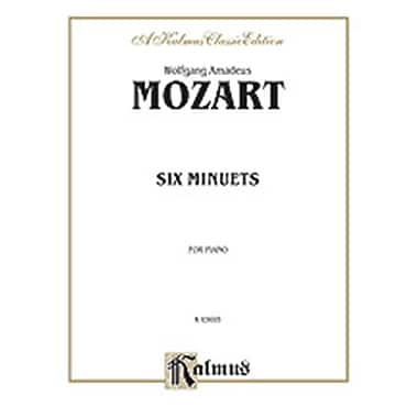 Alfred Mozart 6 Minuets P Book (ALFRD70951)