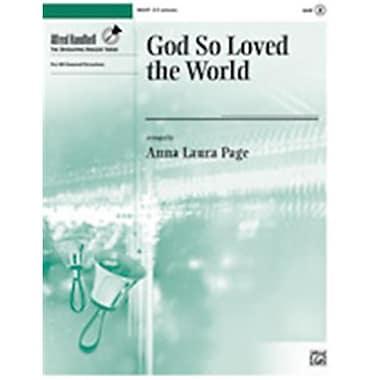 Alfred God So Loved the World (LFR1792)