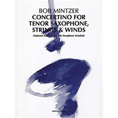 Alfred Concertino for Tenor Saxophone, Strings & Winds (LFR4326)