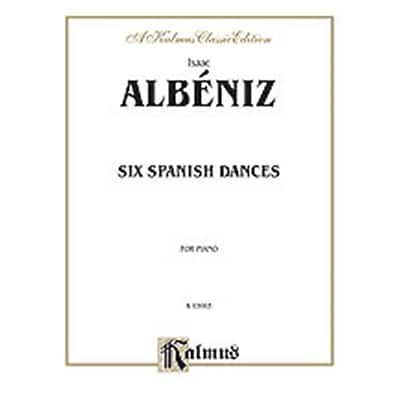 Alfred ALBENIZ 6 SPANISH DANCES PIANO (ALFRD74076)