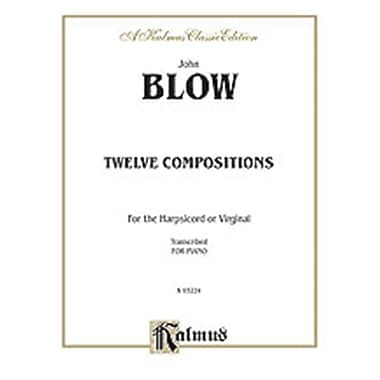 Alfred Blow 12 Compositions For Piano Book (ALFRD71376)